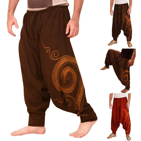 Pantalons Hommes Survêtements Imprimé Casual Pocket Sport Yoga Pantalon De Travail Pantalon Décontracté Pantalon Pantalons de survêtement pantalones hombre