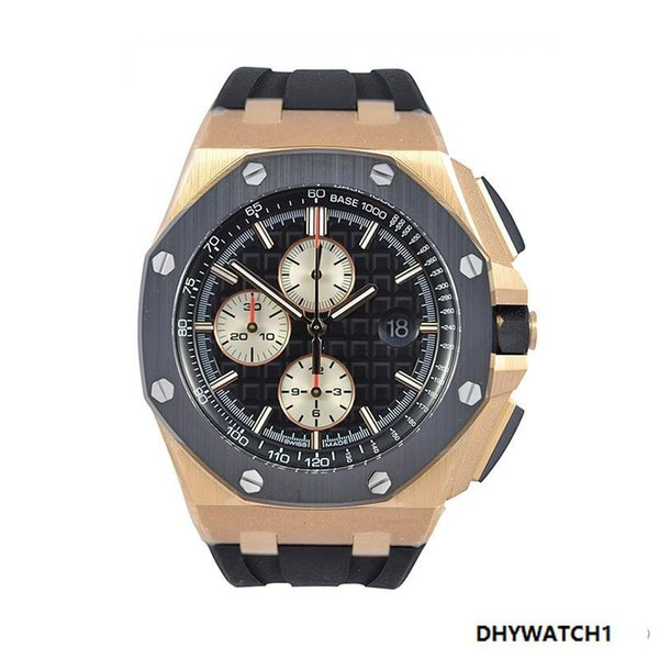 2019 China supplier Custom Luxury Brand Stainless Steel Chronograph Mechanic Watch 3216 Automatic Movement Date Wristwatch for Men's