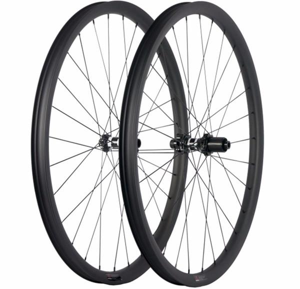 Lightweight 29er carbon fiber mtb wheelset 32mm wide 28mm deep tubeless wheel for mountain bike DT swiss 350 240S hubs wheelset