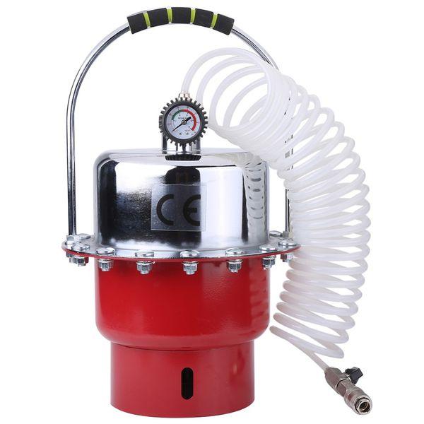 top popular 0-60PSI Pneumatic Air Portable Tank with Pressure Gauge Brake Bleeder Tool Kit Professional Braking Bleeding Set 2020