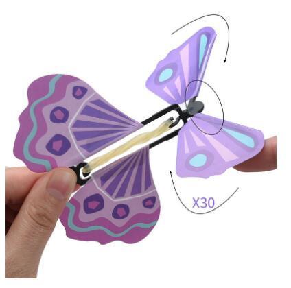 Neue magische Schmetterling Fliegen-Schmetterling ändern mit leeren Händen Freiheit Schmetterling Zauberrequisiten Zaubertricks