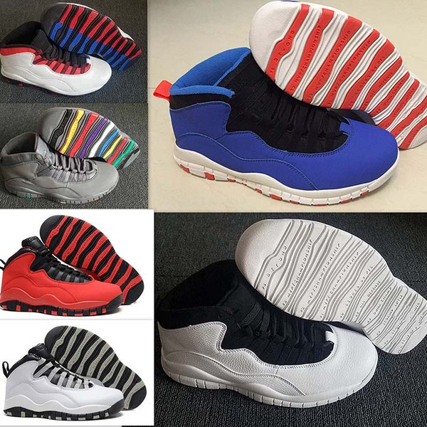 New 10 Westbrook Red Blue Back White Black Men Basketball Shoes 10s Powder  Blue Cool Grey Steel Sneakers High Quality Us 7 12 Running Shoes Basketball  ...