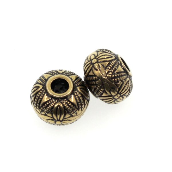 wholesale 100pcs Fashion Gold Acrylic Round Beads DIY Materials For Jewelry Making Necklaces Earring Jewelry Accessories MC73