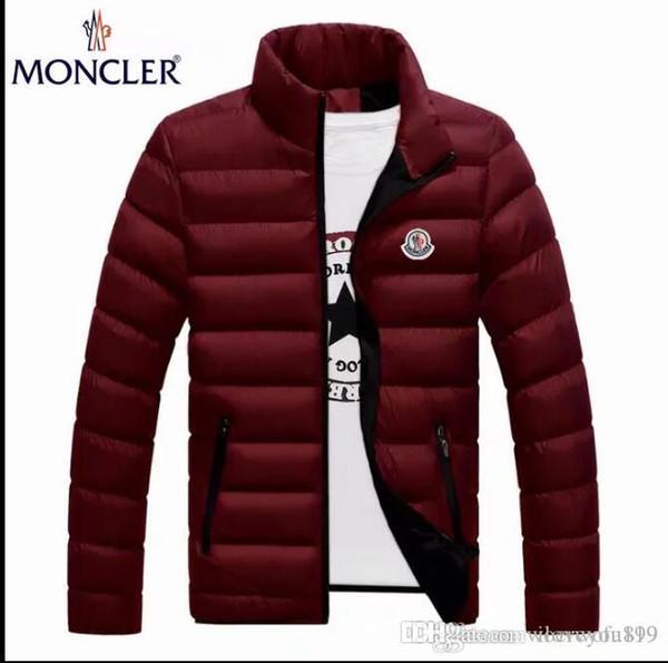 Moda Kış Aşağı Uzun erkek Sıcak Ceket Tasarımcısı Erkek Kapşonlu Coat Marka Ceketler Erkekler için Parkas Artı Yüksek Kalite MON01-09