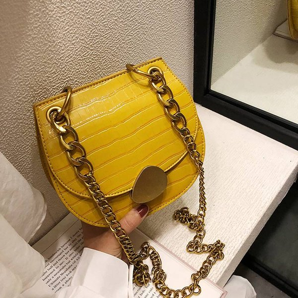 Causal mini purse shoulder bag for women and lady Top Quality Stone PU leather Designer handbags girls evening bag saddle bags