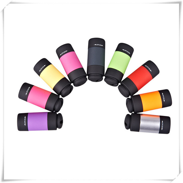 Mini Flashlights Led Flashlight USB Torch Rechargeable Fashion Colorful LED Flashlight High Powered Keychain Lamp Key Chain Flashlights
