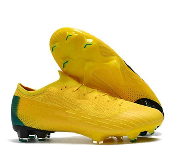 Ankle Football Boots Mens Mercurial Superfly VI 360 Elite Neymar FG Soccer Shoes Superfly CR7 Outdoor ACC World Cup Soccer Cleats-wzx035