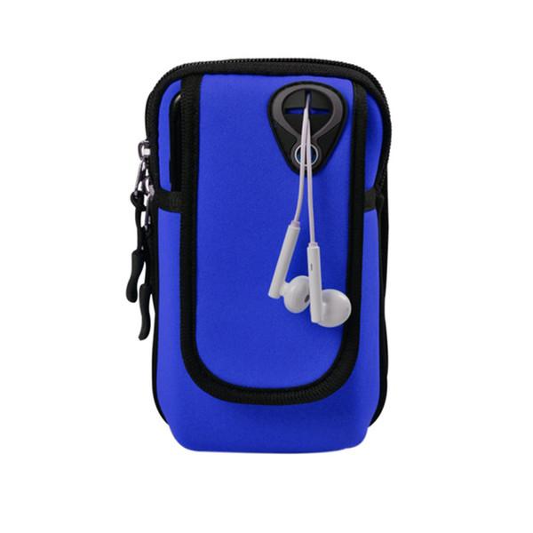Einstellbare Gürteltasche Armband Sport Laufen Jogging Gym Arm Band Tasche Halter Tasche für Handy Gürteltasche Weihnachtsgeschenk