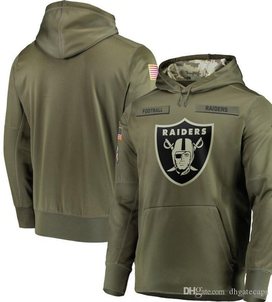 top popular men Pittsburgh Oakland Philadelphia Los Angeles Sweatshirt Hoody Camo Salute to Service Sideline Therma Performance Pullover Hoodie Olive 01 2020