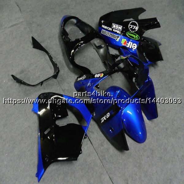 Custom + 5Gifts Motorradverkleidung für Kawasaki ZX9R 2000 2001 ZX-9R 00-01 ZX 9R Motorradrumpf