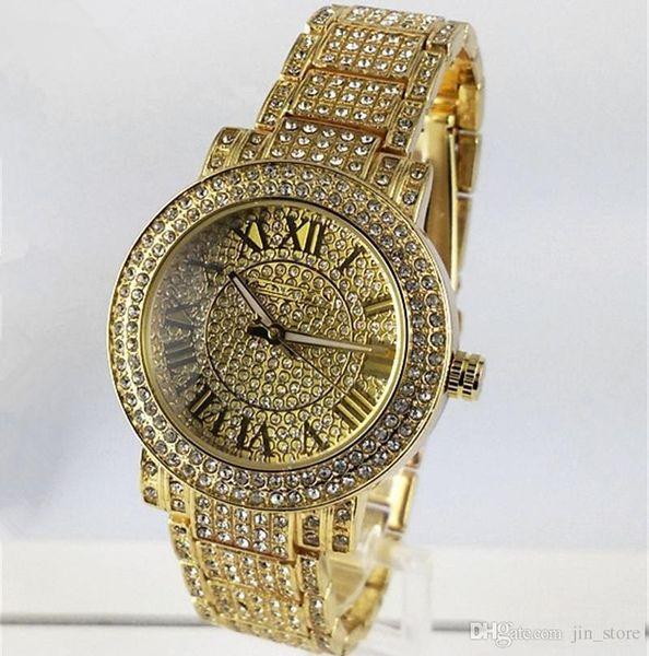 best selling 2019 New Luxury watches Women Watch M Diamonds Dial Band Roman numerals Quartz Watches For Womens Ladies Designer Watches