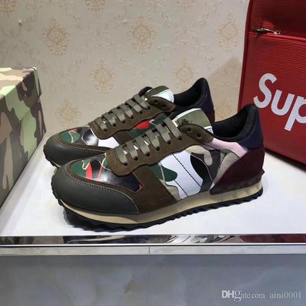 Adı Tasarımcı Arena Ayakkabı Adam Rahat Sneaker Kırmızı Moda Tasarımcısı Yüksek Üst Ucuz Sneaker Siyah Beyaz Parti Ayakkabı Eğitmeni hy189609