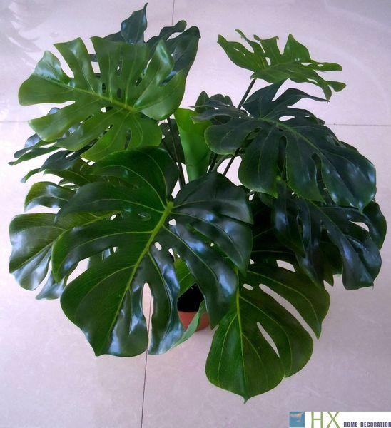 Ücretsiz kargo (2 adet / grup) Kaplumbağa yapraklar bitkiler, Yapay ağaç, Yapay bitkiler, ev dekorasyon, kapalı bitkiler C18112601