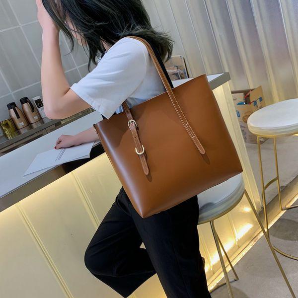 Fashion 2 sets pu Leather Luxury Handbags Women Bags Designer handbags High Quality Women Shoulder Bag Sac a main T190913