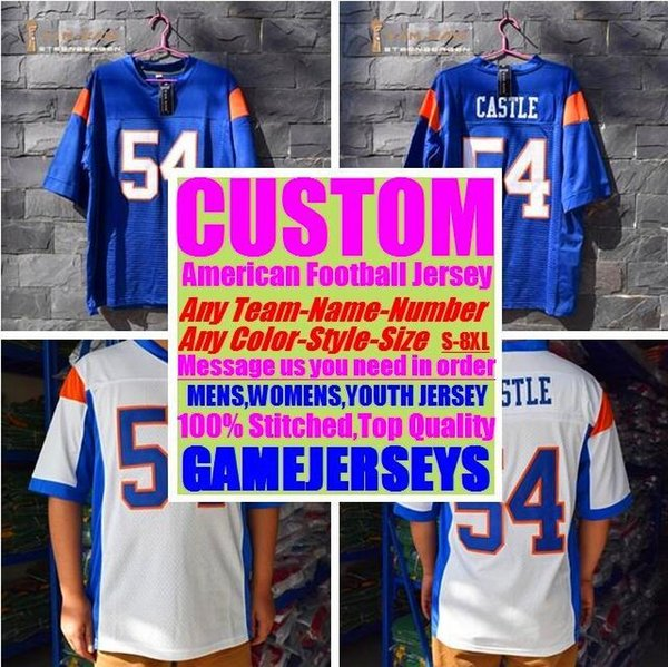 All Stitched Custom american football jerseys Washington Miami college authentic cheap baseball basketball mens womens youth USA 4xl shop