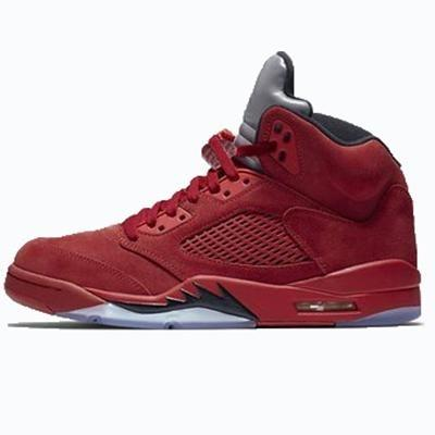 Red suede_