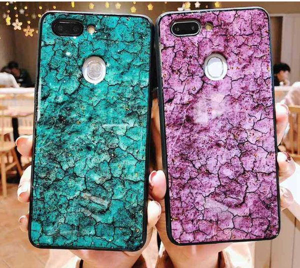Iphone ex Max marble unreal mobile phone shell female drops of glue apple 7/8 personality tide web celebrity hot style