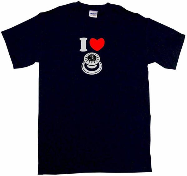 T Shirt 2018 New Short I Heart Love Pinball Bumper Short-Sleeve Mens T Shirts