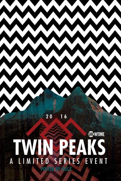 Twin Peaks TV Series Decor wall Art Silk Poster 24x36inch 24x43inch