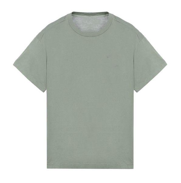 19SS 럭셔리 유럽 Mercerised 코 튼 패치 로고 T- 셔츠 Topstoney Mercerizing 코 튼 남성 디자이너 T 셔츠 HFWPTX355