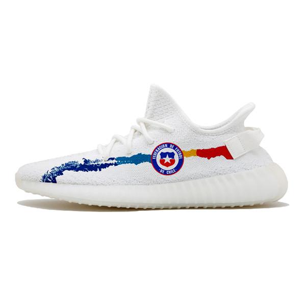 2019 Custom Pattern 35 NEW Bred Semi Frozen Blue Tint Zebra Cream White Beluga 2.0 Bred 2S Kanye West Running Shoes Sneakers