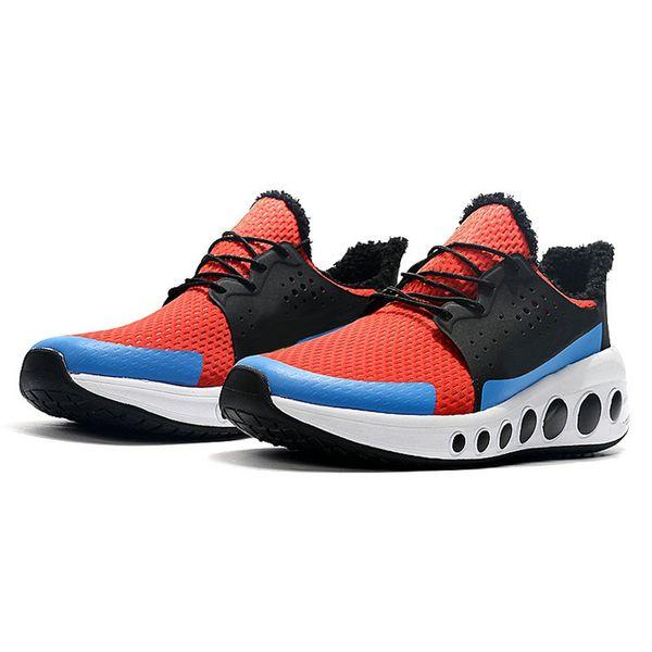 Nuevo reaccion 2019 CRUZRMAX Element Designer Triple Black White Tinker Hatfield Designer Sneakers Hombre Chaussures Hombre Zapatos Zapatos para correr