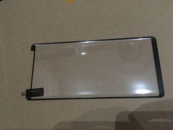 3D изогнутый изгиб прозрачный полноэкранный закаленное стекло-экран протектор для Samsung Galaxy S10 S10e S9 Plus S8 Note 9 8 полный клей черный край