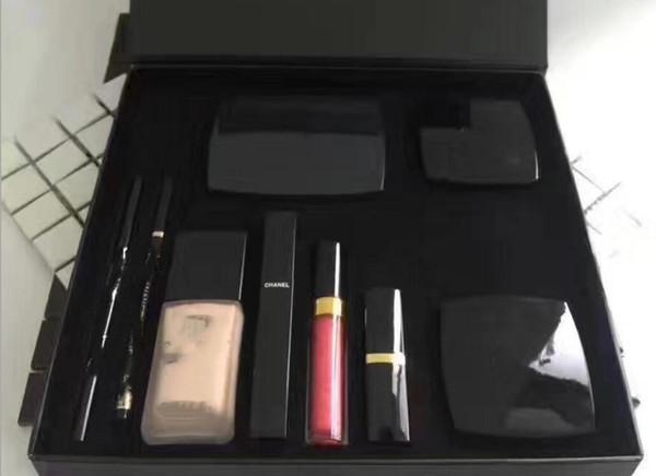 Макияж Dropshipping высокого качества Новые Косметика Корректор Карандаш для бровей Румяна Помада Eyeliner Pencil High Quality Kit Big Box Set