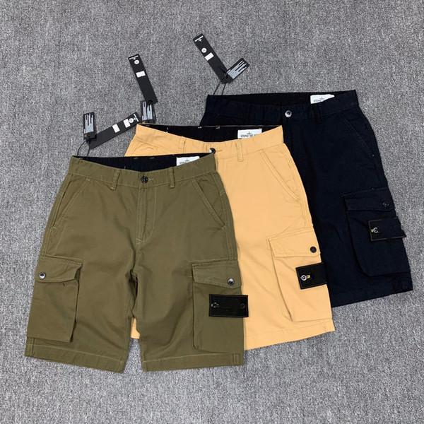 best selling #611 Summer Men shorts Joggers Pants Male Trousers Mens Joggers Solid black blue Pants Cotton shorts M-2XL