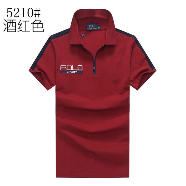 Polo ralph t shirt lauren famous brand mens designer Polos shirt luxury men Embroidery Cotton POLO shirt classic fashion tee Free delivery
