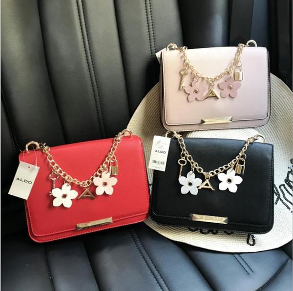 2019 tasarımcı ALDO çanta yeni üç boyutlu çiçek kolye kolye Messenger çanta omuz çantası