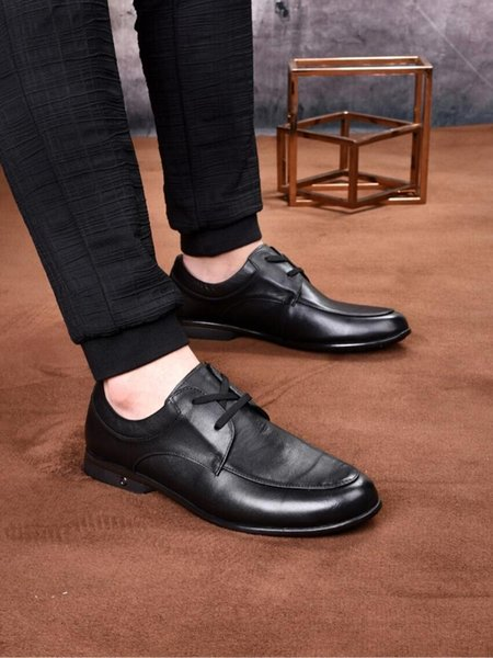 New Formal shoes Men's Business Leisure Leather Shoes in Spring and Summer of 2019 Korean Fashion Men's Shoes