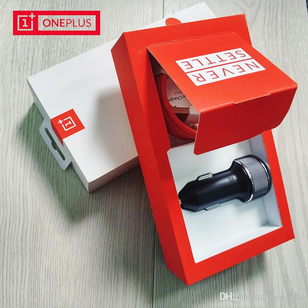 Original OnePlus Dash Charging Car Charger 1M Oneplus Dash Charge Type C Cable 5V 4A Fast Quick Charging For Oneplus 6 5T 5 3t 3