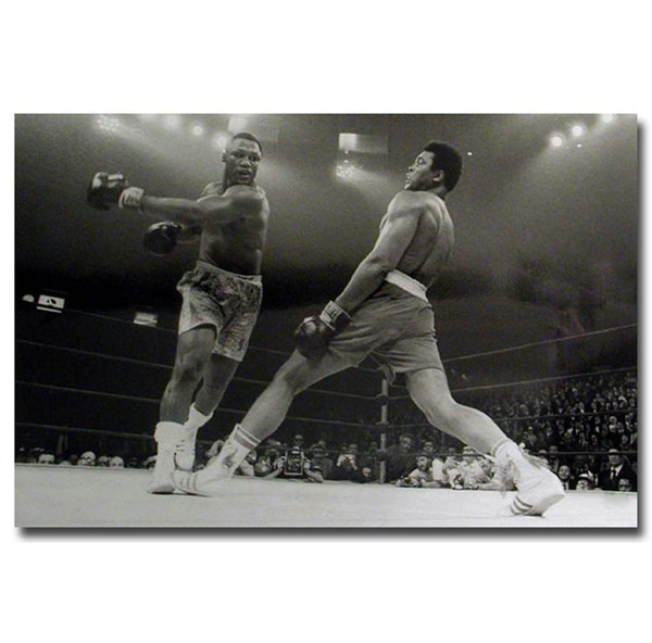 The Life And Fight Of Muhammad Ali,HD Canvas Printing New Home Decoration Art Painting/(Unframed/Framed)