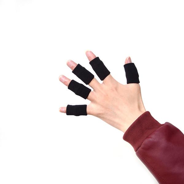 10pcs Elasticizzato Sport Manicotto Artrite Supporto Finger Wrap Guard Outdoor Basketball Beach Protezione da pallavolo