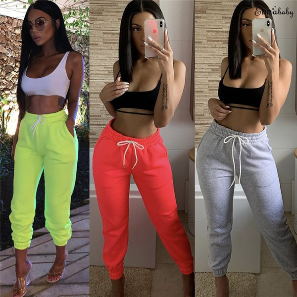 Ladies Sweat Pants jogging Womens Joggers Bottoms Gym Training Trousers S M L XL