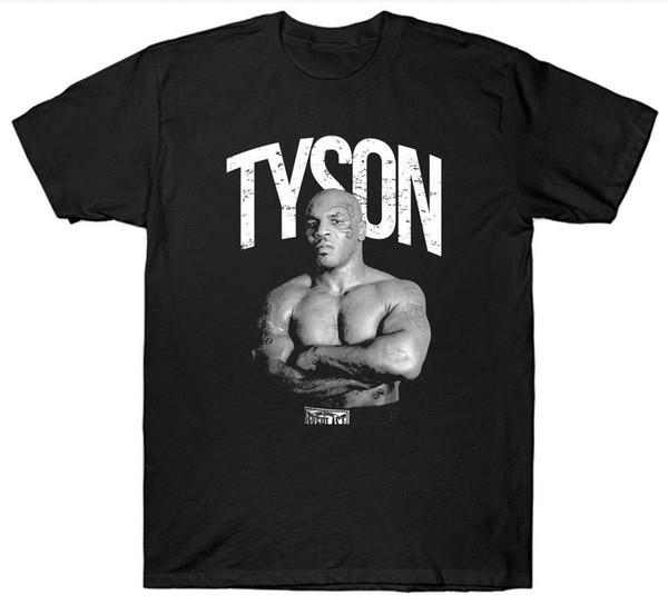 MIKEtt top new funny TYSONtt T SHIRT BOXERtt BOXINGtt LEGEND HEAVYWEIGHT GYM TRAINING T-shirt con cappello rosa T-shirt RETRO VINTAGE Classic