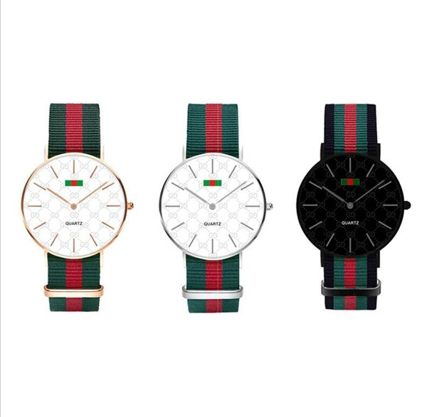 Watch Men Casual Nylon Fabric Male Watches Men Sports Military Quartz-Watch Mens Watches Relojes Waterproof Wellington Clock women