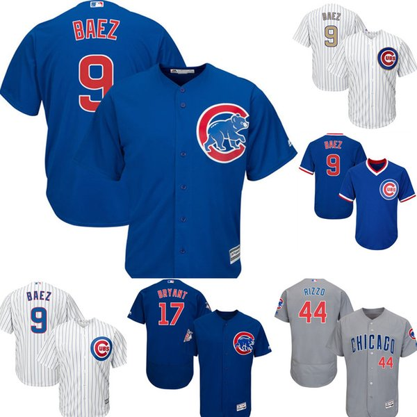 meet 384e7 be7b3 2019 Chicago Cubs 9 Javier Baez Jersey Men'S Majestic Home Player Jersey  Embroidery Baseball Jerseys M XXXL Cheap Sales From Flyingjersey88, $22.28  | ...