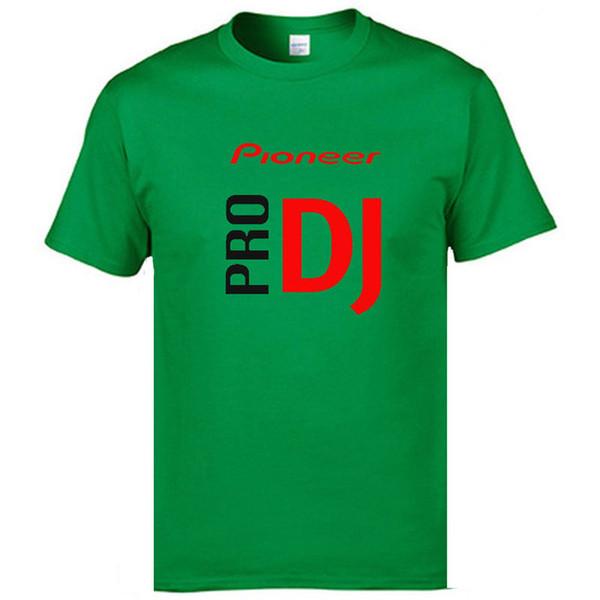 mens designer clothes brand polo BAIJOE DJ style Pioneer O-NECK T-shirt Men new summer fashion tshirt for Pioneer DJ PRO T Shirt Men