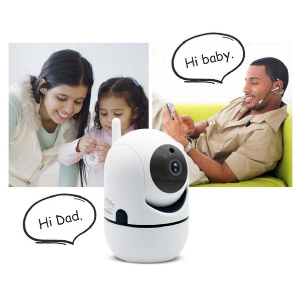 In Stock! Auto Track 1080P Camera Surveillance Security Monitor WiFi Wireless Mini Smart Alarm CCTV Indoor Camera Baby Monitors