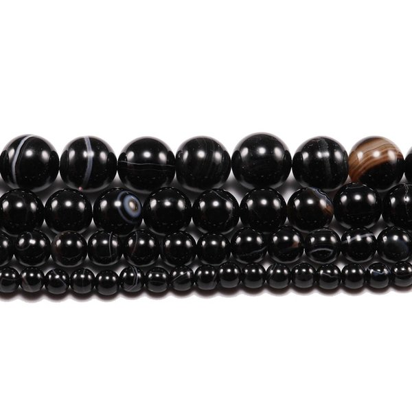 Balck Banded (6mm, about62pcs)
