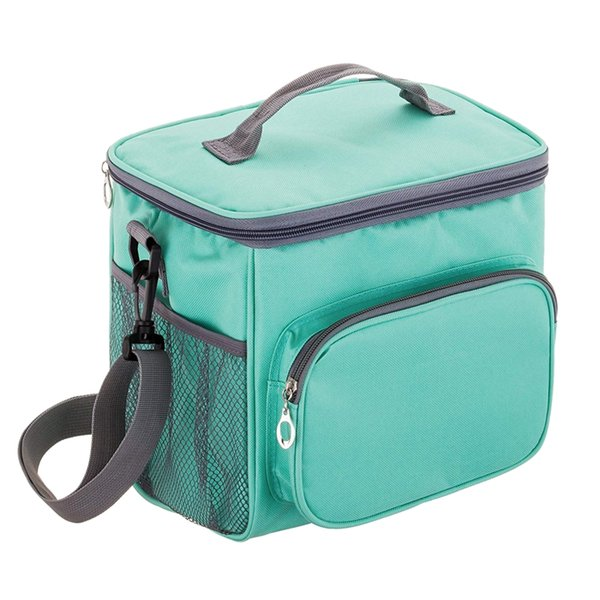 Adult Lunch Bag Insulated Lunch Box Cooler Tote Bag for Men & Women, Double Deck Heat-Resistant Coolers with Adjustable Should