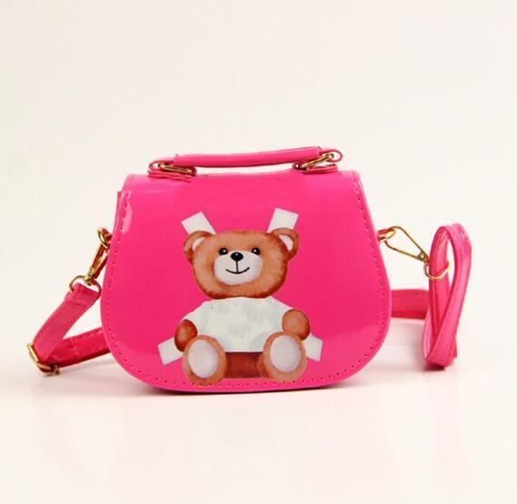 Kids Handbag Girls Mini Purses Shoulder Bags Teenager Designer Girl Princess PU Printed Bags Cute Christmas Gifts For Baby Child Bag