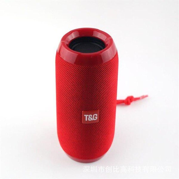 TG116 upgrade verion TG117 Bluetooth Portable Speaker Double Horn Mini Outdoor Portable Waterproof Mini Column Music Player