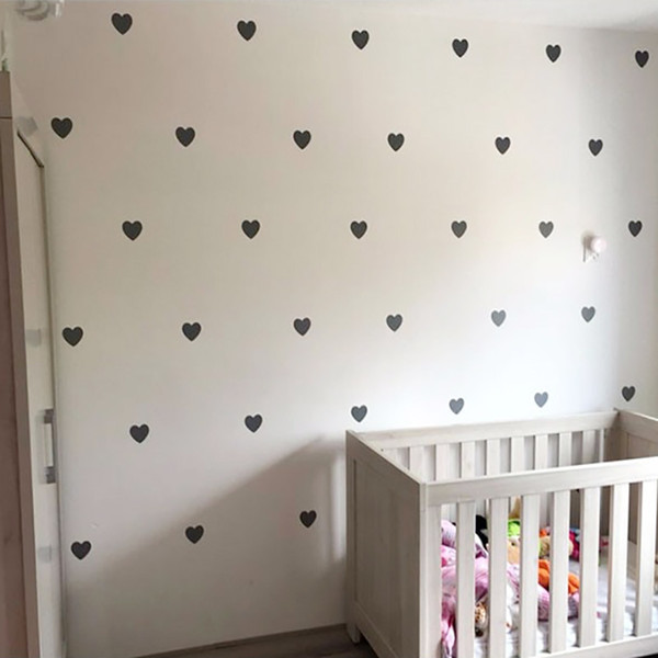Baby Room Decorative Stickers Girl Bedroom Wall Decal Stickers Children Wall Stickers Room Decoration Nursery Home Decor