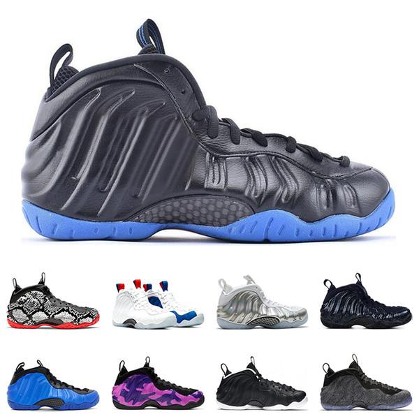 Hot Penny Hardaway Abalone Мужчины Баскетбольные кроссовки США OBSIDIAN GLITTER PURPLE CAMO HYPER COBALT KNICKS SNAKESKIN кроссовки Sport Sneaker 7-13