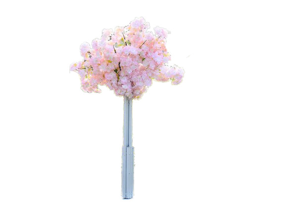 "Four Branches Each Bouquet Simulation Cherry Blossom 1 m(39"") Long Wedding Arch Decorative Flower Home Living room Decor"