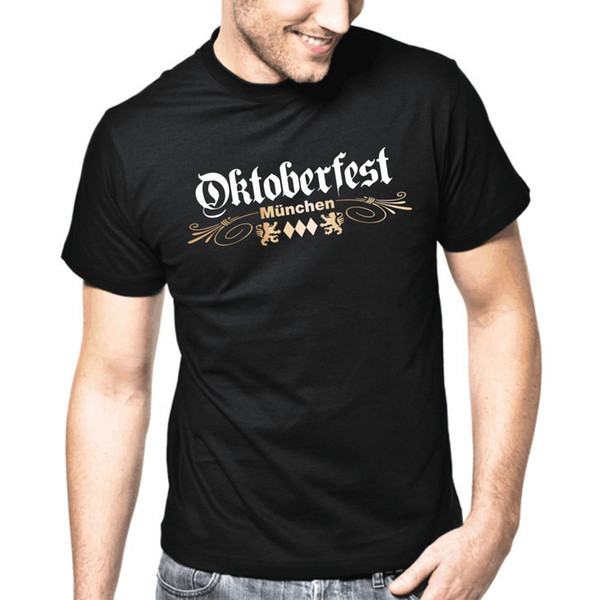 Oktoberfest Munchen | Wiesn | Bayern | M-shirt S-3XL T-Shirt Estate Uomo T Shirt Top Tee Sleeve Harajuku Top