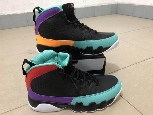 Good quality Cheap Sale IX Jumpman 9 Wheat Bred Men's Sports Kids Basketball Shoes for Man Youth 9s Outdoor Game Athletics Trainer Sneakers